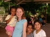 With Gabriella, whom I sponsor through Friends of Honduran Children